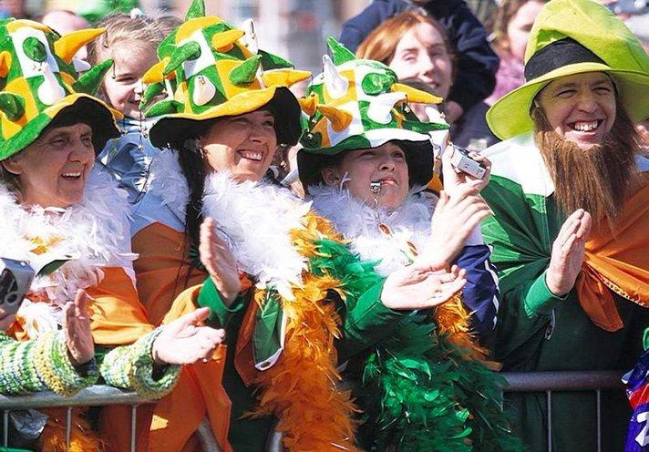 Juhlapäiviä - Irlantilaisten Pyhän Patrickin päivä 17.3