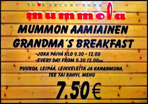 Suomipaikat - Mummolan lounaat viikolla 50 Gran Canaria