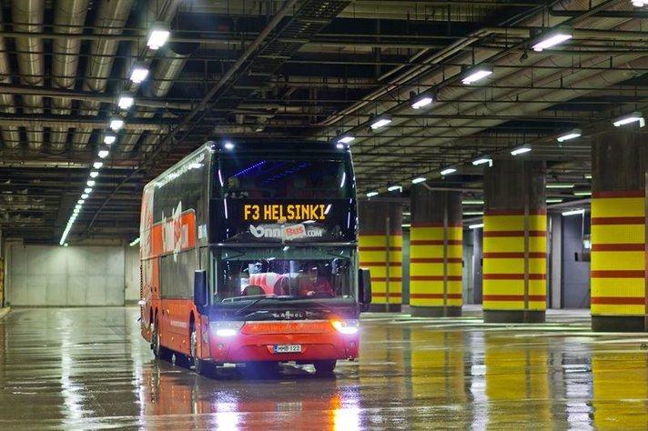 Onnibus tuo bussikilpailun<br /> nyt my&ouml;s lentoasemalle