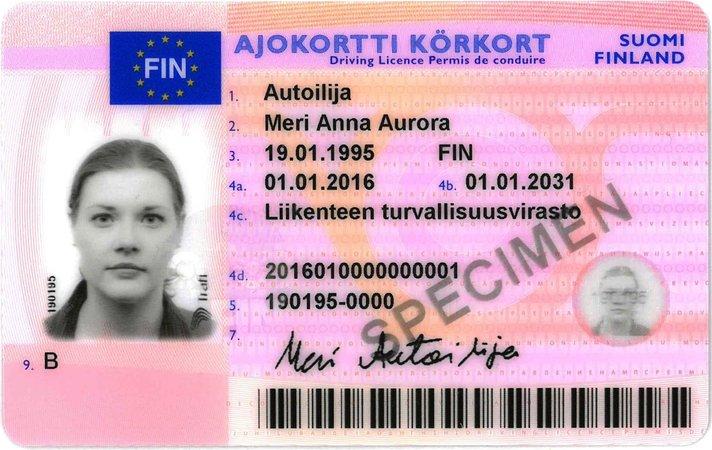 Suomi liittyi EU:n yhteiseen ajokorttiverkostoon