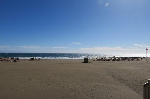 Kuvassa San agustinin playa de las Burras. Copyright. M.Aaltonen.2018.