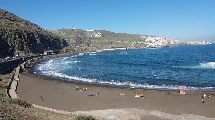 &nbsp;Uimarannat - Las Palmas: Playa de la Laja<br /> &nbsp;