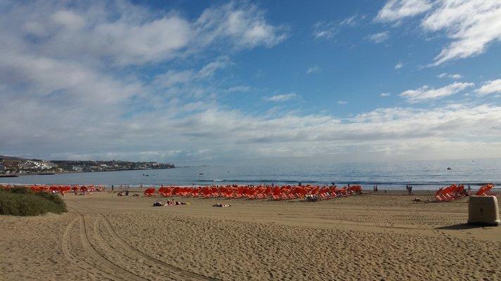 Uimarannat - Playa del Ingl&eacute;s<br /> &nbsp;