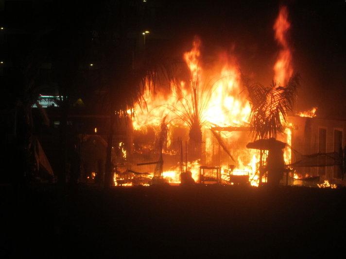Jälleen tulipalo suomalaisten suosimalla alueella Playa del Inglesissä
