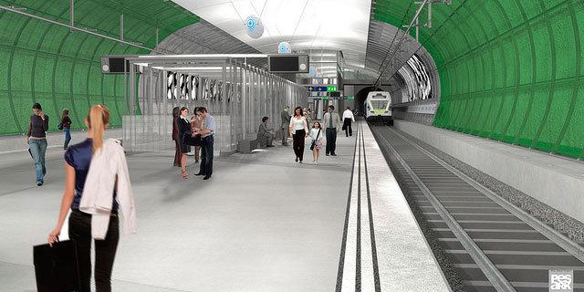 Yhä useampi matkustaa Helsinki-Vantaan lentokentälle junalla