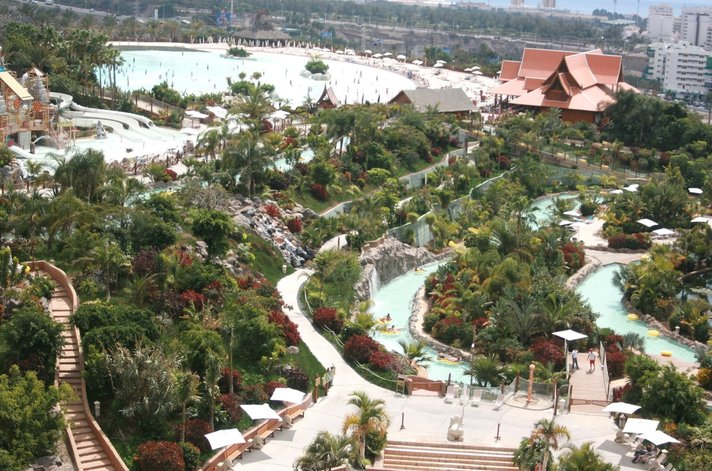 Teneriffa - Siam Parkista maailman paras vesipuisto