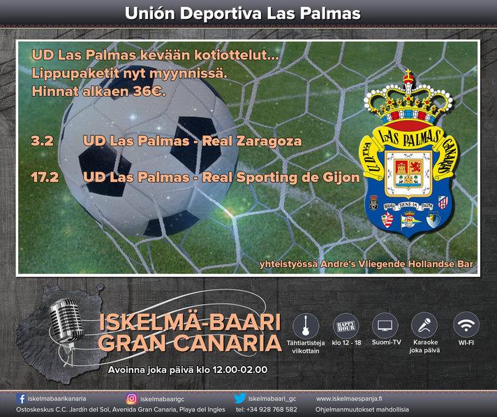 Aktiviteetit - Futismatsiin Gran Canarialla