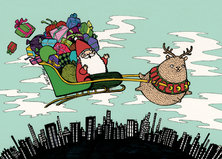 Palleroporo ja joulupukki