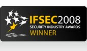 IFSEC2008 Security Industry Awards winner