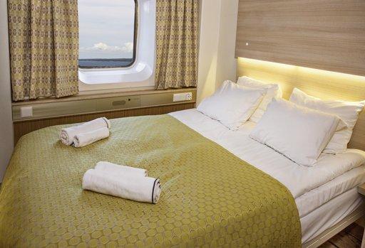 UUdet Comfort-luokan hytyt ovat kuin hotellihuoneita
