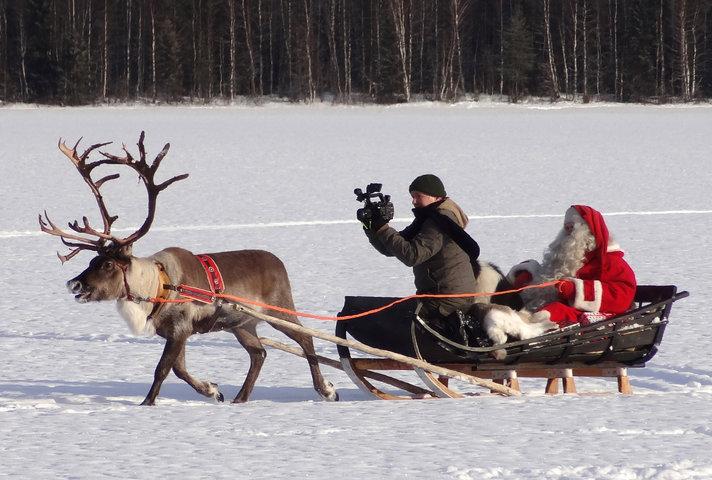 Joulupukin televisiolla menee lujaa:<br /> NETISSÄ 50 MILJOONAA KATSOJAKERTAA