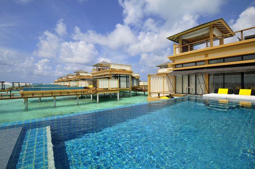 Kiinnostaisiko vedenalaiset<br /> häät vaikka Malediiveilla?