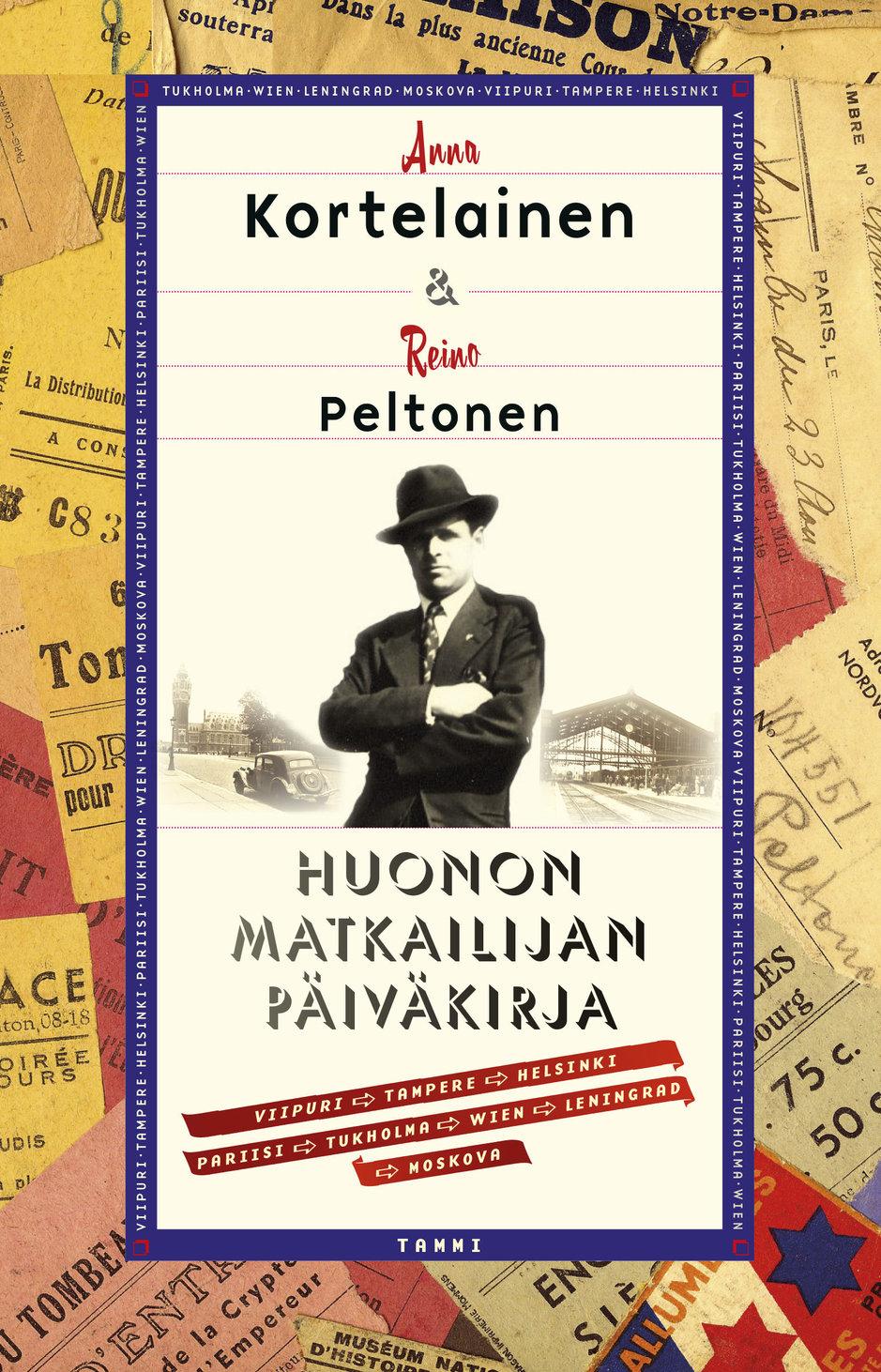 Reino Peltosen jättämästä perinnöstä on tyttärentytär Anna Kortelainen poiminut parhaat hedelmät kokoelmaan Huonon matkailijan päiväkirja.