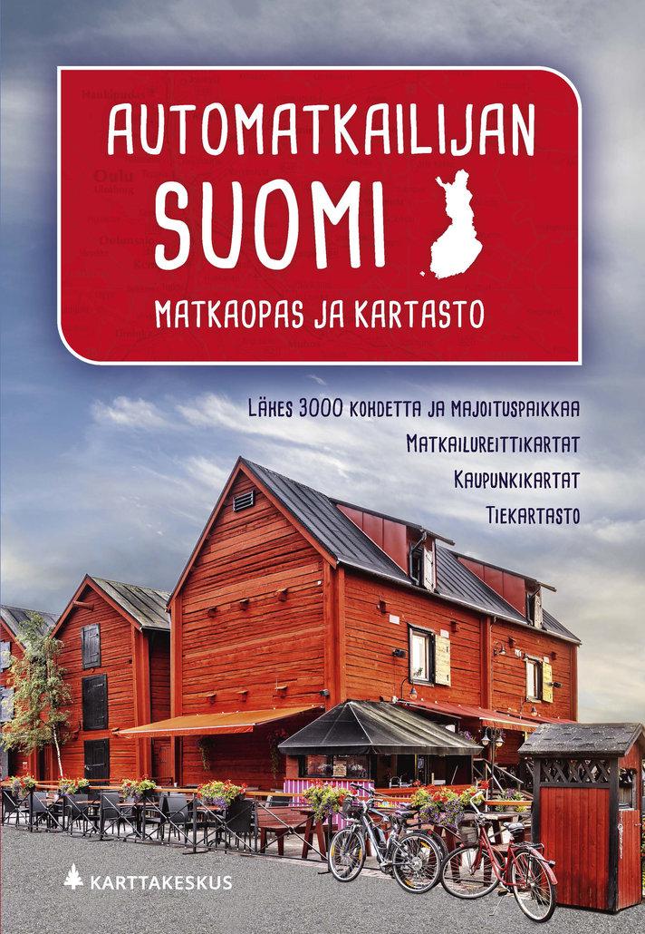 Suomen matkaopas johdattaa<br /> kotimaan matkailukesään