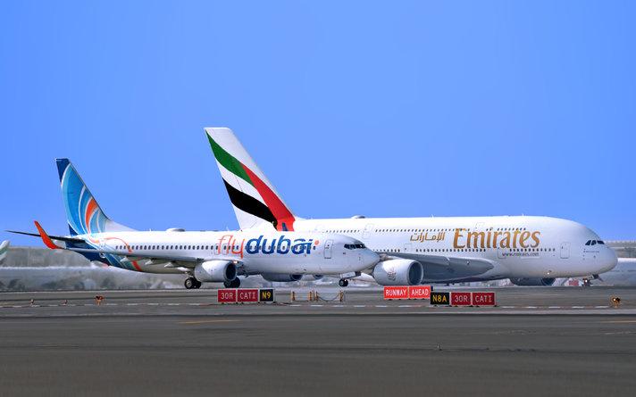 TESTISSÄ: Flydubain uusi suora<br /> yhteys Helsingistä Dubaihin<br />  Helsinki