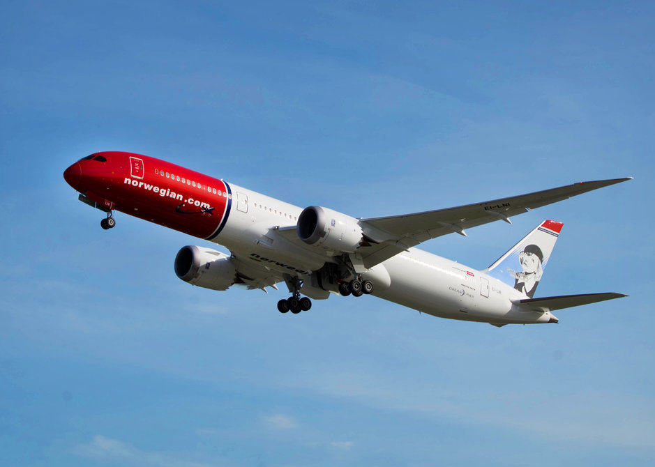 Norwegianille lentolaivastoon<br /> kaksi uutta Dreamlineria