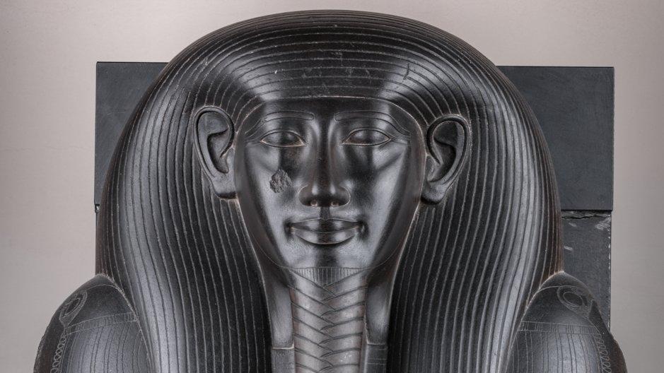 Lid of the sarcophagus of Ibi, 664-610 BC. © Museo Egizio