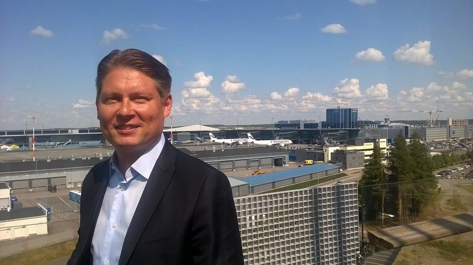 Finnairin pääjohtaja Topi Manner ei haikaile Nordean johtoon.