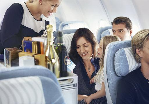 Vaatekauppojakin nyt lennoille -<br /> Finnairin koneisiin muotiliike