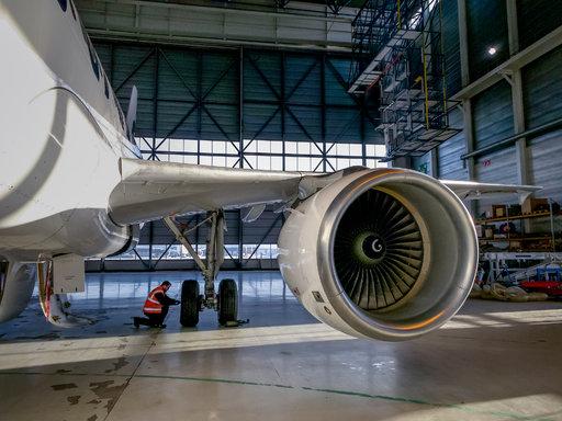 Finnair purkaa ja kierrättää<br /> A319-koneen kotimaassa