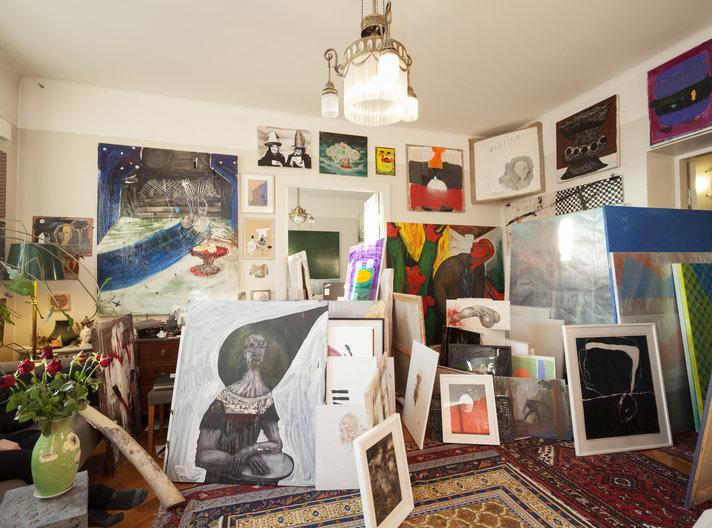 Kiasma saa satojen<br /> taideteosten lahjan