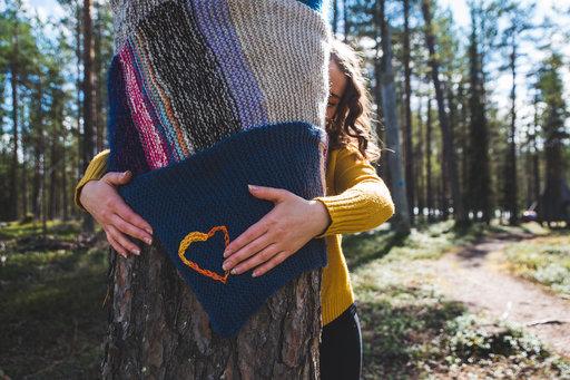 Halipuumetsässä on lupa halata puita. Kuva : Kea Creutz