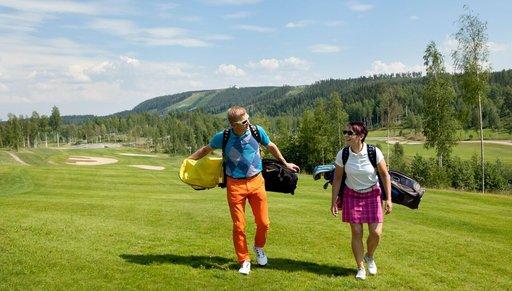 Himos on eteläisen Suomen suosituimpia golf-keskuksia.