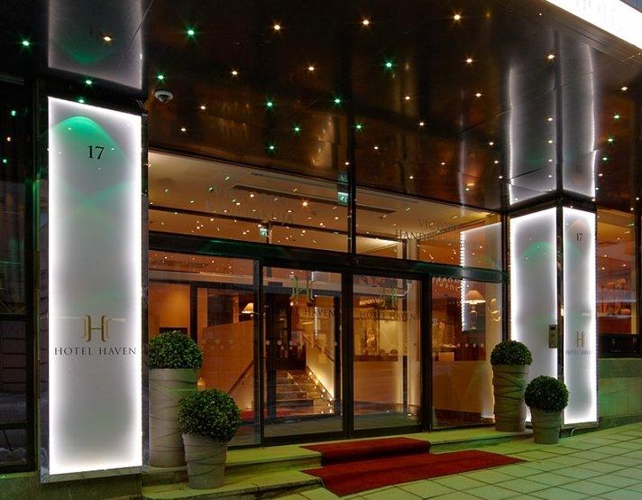 &nbsp; Hotel Haven maailman<br /> parhaiden joukkoon
