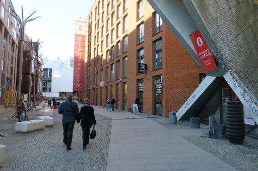 Roteremannin kaupunginosaan on noussut muutamassa huoneessa tornitaloja ja lasipalatseja sekä uusi ostoskeskus.