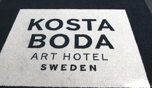 Taidehotelli Kosta Boda on saanut runsaasti kansainvälistä tunnustusta