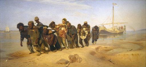 Ilja Repin: Ristisaatto Kurskin kuvernementissa (1881–1883). Tretjakovin galleria. © Tretjakovin galleria, Moskova