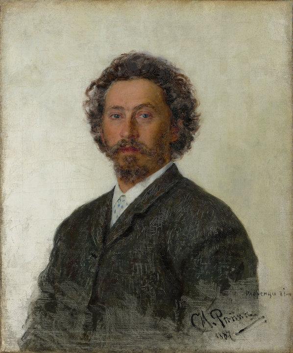 Ilja Repin: Omakuva (1887). Tretjakovin galleria. © Tretjakovin galleria, Moskova