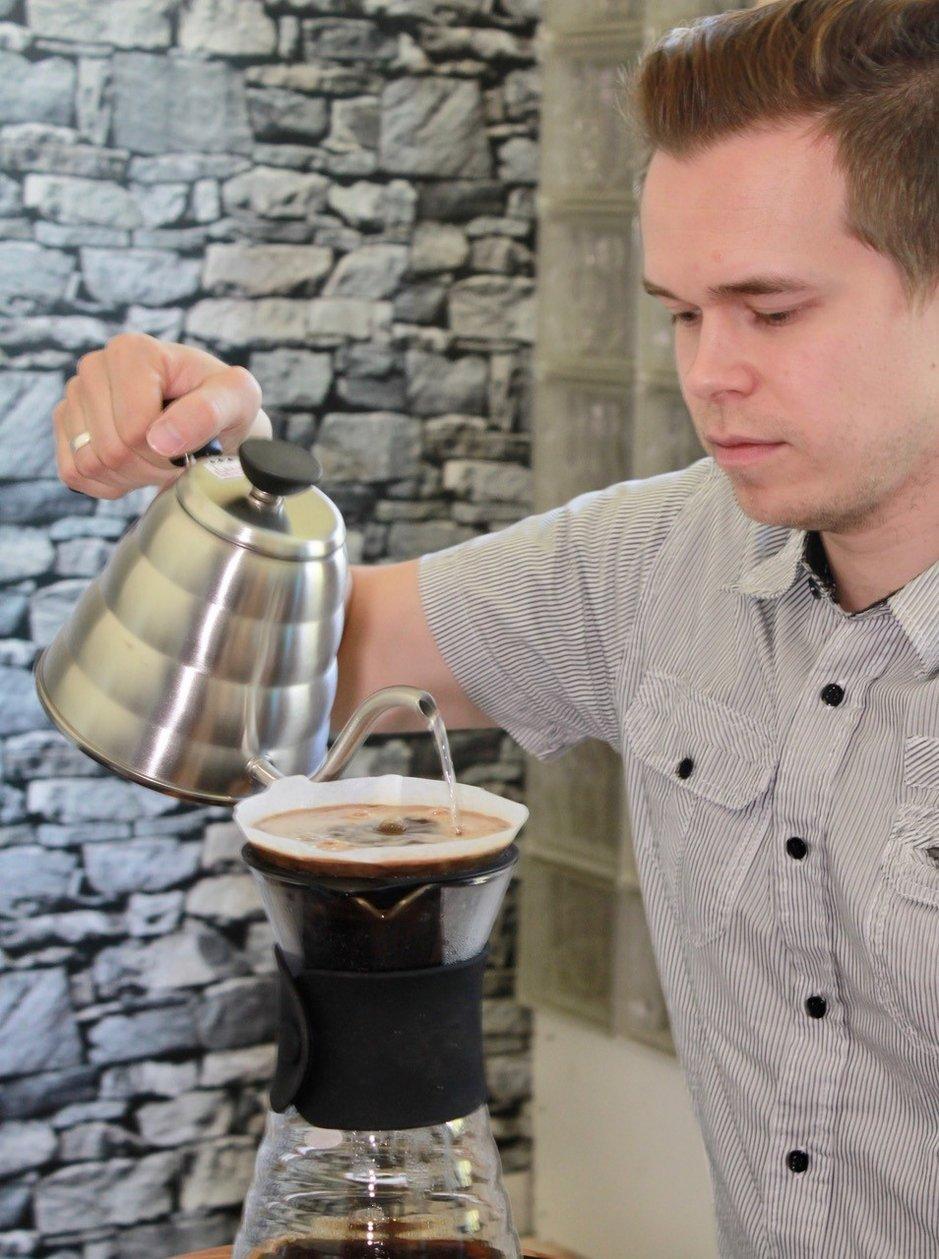 Elämyksiä myös matkailijoille:<br /> - Lappiin oma kahvipaahtimo