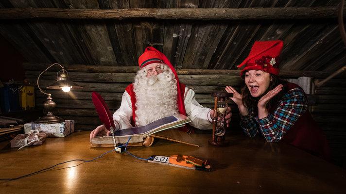 Joulupukki suojelee ensi<br /> kesänä Napapiirin Jukolaa Helsinki