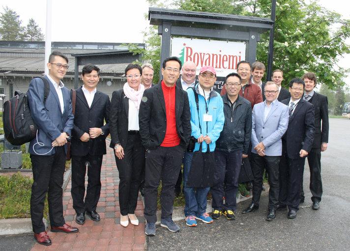 Pohjoisen matkailu kiinnostaa Kiinassa<br /> - Liikemiehet tutustuvat Lappiin