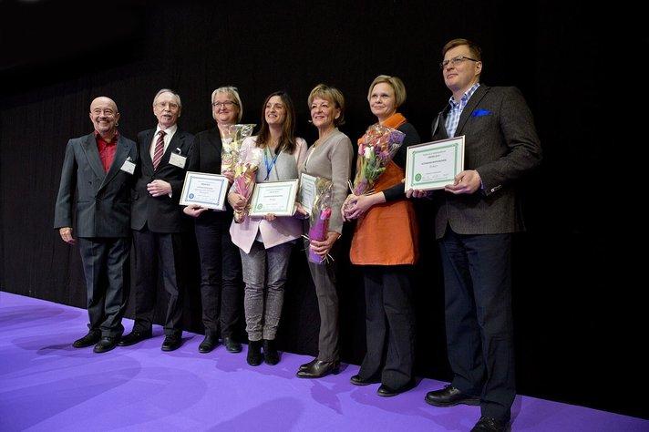 Tjäreborgin tiedottaja palkittiin<br /> messuilla tänään: Arja Pucilowski