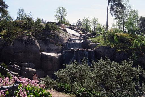 Sapokan valtavassa vesipuistossa riittää nähtävää ja koettavaa. .