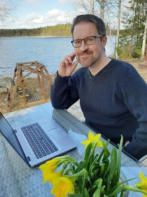 Kunnanjohtaja Mikko Salmela.