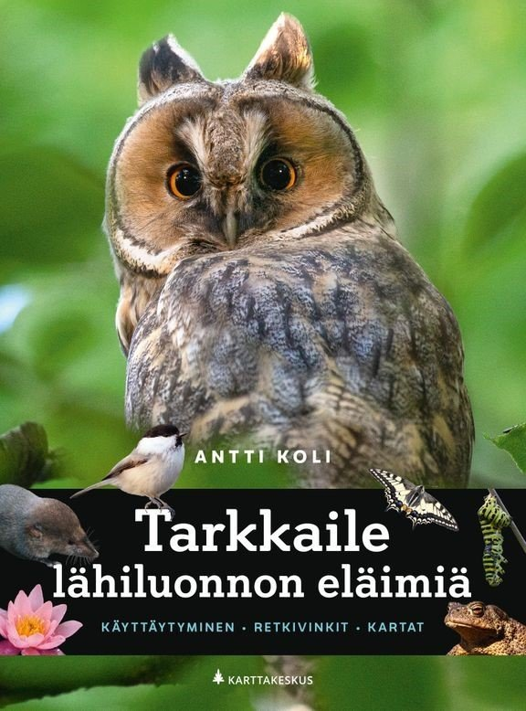 Kirjauutuus opastaa<br /> lähiluonnon tarkkailuun Helsinki