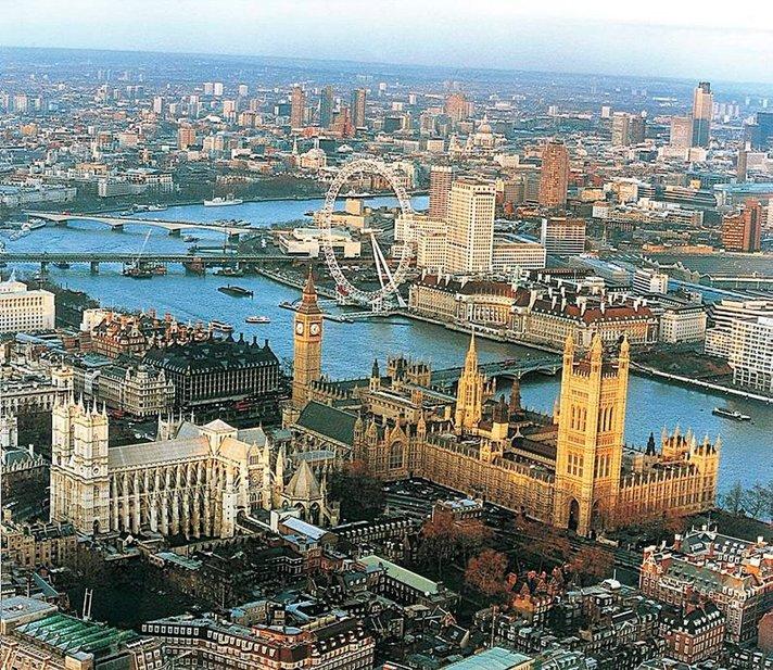 Lapset nauttivat Lontoosta