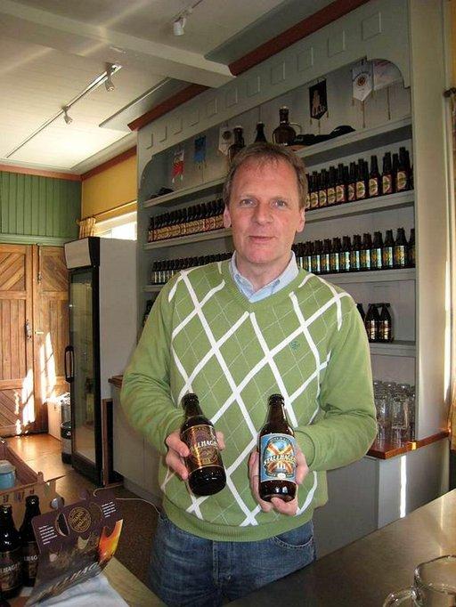 Stallhagen-panimo tuottaa omaa olutta Stefan Blomgvistin johdolla.