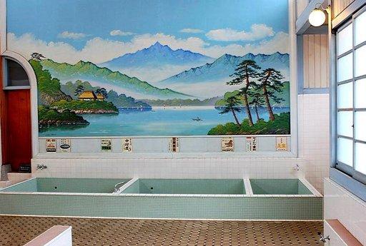 Kylpytunnelmaa Koganein puistossa.