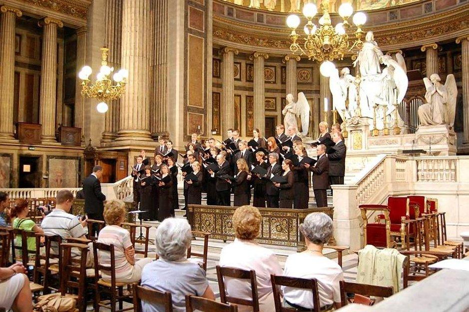 Madeleine-kirkon iltapäiväkonsertissa.