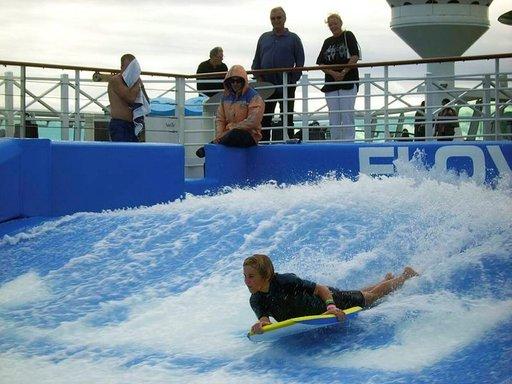 Yksi Independencen erikoisuuksista on surffausallas.