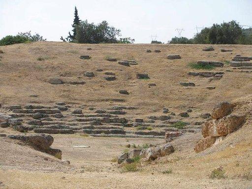 300-luvun eKr. teatteri Eretriassa.