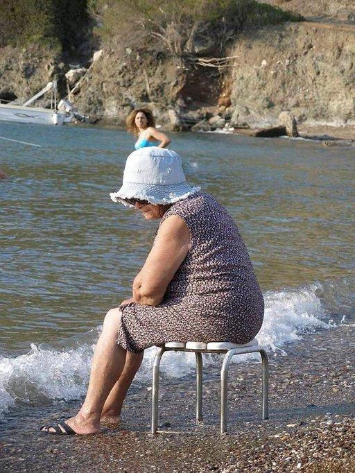 Evian rauhaisilla rannoilla on aikaa mietiskelyyn.
