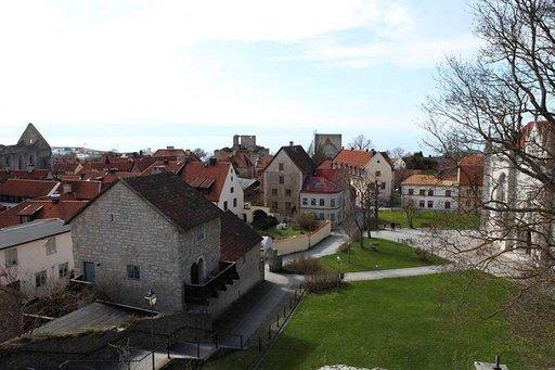 Visbyssä on paljon historiaa.