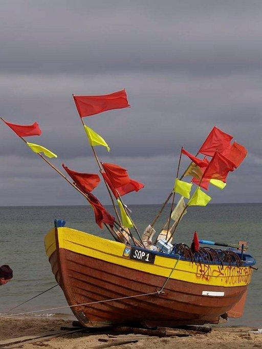 Kalastajat ovat jo palanneet mereltä.