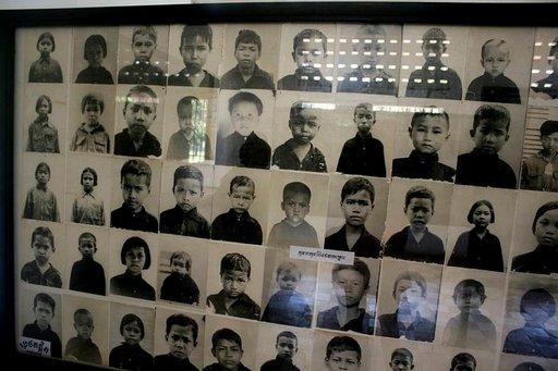 Kidutuskeskuksen valokuvat kertovat, että osa 1,7 miljoonasta tapetusta oli lapsia.