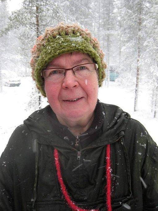 Ritva Juotasniemi on poromiehen vaimo.